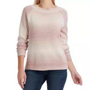Chaps New Cotton Blush Pink Sweater, size XXL, nwt